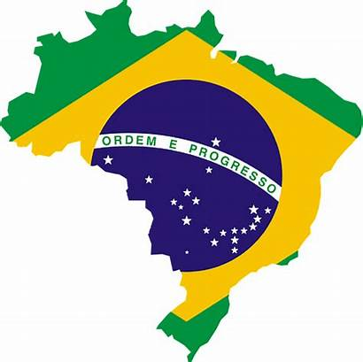 Brazil Flag Map Country Brazilian Vector Graphic
