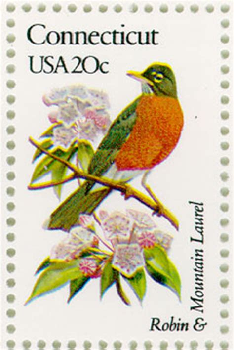 state flowers  stamps