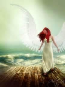 Redhead Angel Wings
