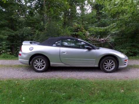 2002 Mitsubishi Eclipse Spyder by Sell Used 2002 Mitsubishi Eclipse Gs Spyder Convertible In