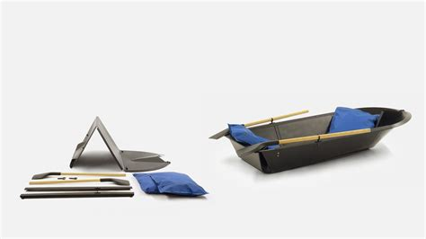 Folding A Boat by Desire This Folding Boat A Leisure Boat Made From A