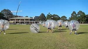 Bubble Soccer - Big start to a game - YouTube