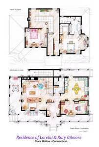 house floorplan house of lorelai and rory gilmore floorplans by nikneuk on deviantart