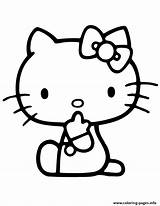 Coloring Kitty Hello Pages Printable Quiet Colouring Evil Tongue Cartoon Keep Adult Disney Hmcoloringpages sketch template