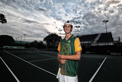 lloyd harris claims  big scalp  china tennis south africa