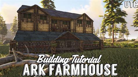 ragnarok farmhouse ark building tutorial  mods