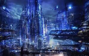 Future Smart City Wallpaper