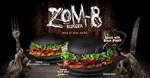 Bite if you dare! Burger King brings in new Zombie Burger ...