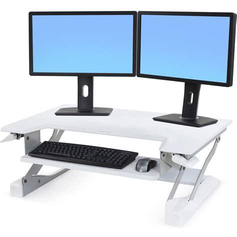 Ergotron Workfit T Sit Stand Desktop Workstation by Sit Stand 33 397 062 Ergotron Workfit T Desktop Workstation