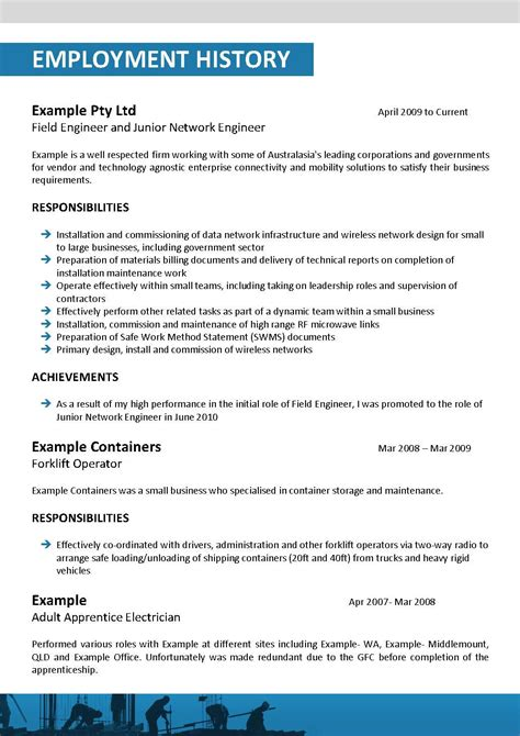 18309 construction resume templates construction resume template 118