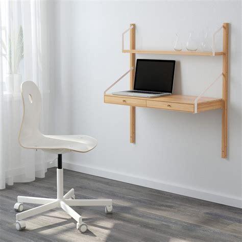 le bureau ikea petit bureau gain de place 25 modèles pour votre