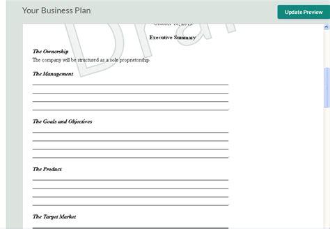 business plan templates  startups wisetoast