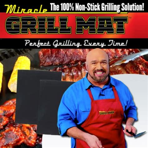 miracle grill mat as seen on tv miracle grill mat new easy