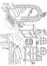 Coloring Basement Interior Colouring Cabin Para Partes Colorear Casa Drawing Pintar Dibujo Sketch Flower Woods Dibujos Furniture Edupics Kelder Hogar sketch template