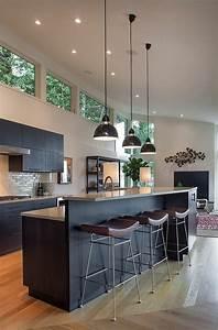 Les cuisines contemporaines fonctionnelles et stylees for Idee deco cuisine avec cuisine bois