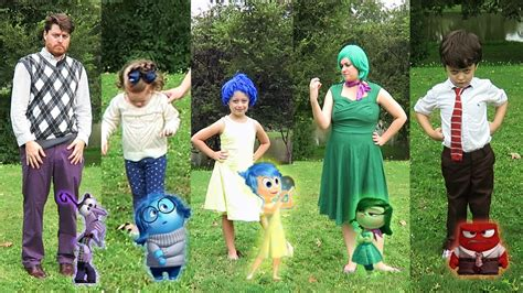 DIY Inside Out Family Halloween Costumes and