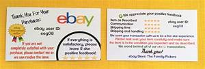 ebay ad template - the best ebay business cards ebay sellers