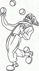 Jongleur Juggler Malabarista Payaso Malabaristas Jongleurs Dibujoswiki Coloriages Zafia Ausdrucken sketch template