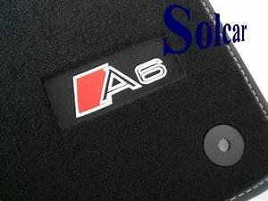 Tapis De Sol Personnalisé : tapis de sol avec logo audi exclusive tapis personnalis voiture audi a6 c7 exclusive ~ Medecine-chirurgie-esthetiques.com Avis de Voitures