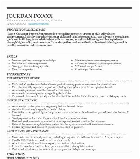 Objective For Customer Service Resume by Exle Of Resume Objective Statements For Customer Service