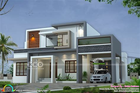 Kerala Home Design by 2516 Square House Cost Estimated Cost 47 Lakhs