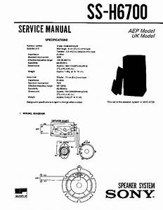 Sony Cdp-h6700  Mhc-6700 Service Manual