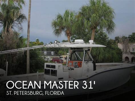Used Boat Trailers St Petersburg Fl by Master 31 Center Console For Sale In St Petersburg