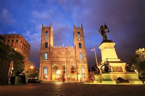 Notre Dame Basilica Montreal Quebec Canada Beautiful