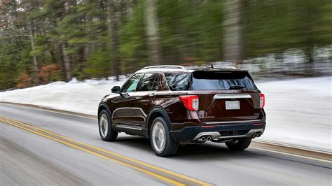 ford in 2020 2020 ford explorer debuts with rear wheel drive platform