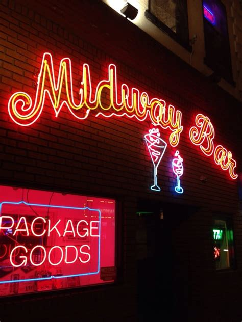 midway bar dive bars   baltimore st downtown