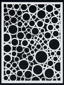 Random Circles Stencil Mary Beth Shaw StencilGirl Products