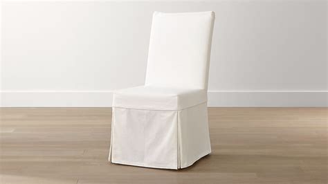 Slip White Slipcovered Dining Chair + Reviews