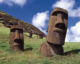 Image result for images of easter island statues