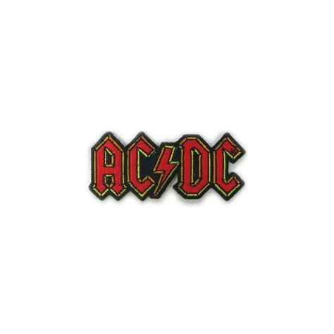 AC/DC Parche Small Logo - Shaolin Rock Shop