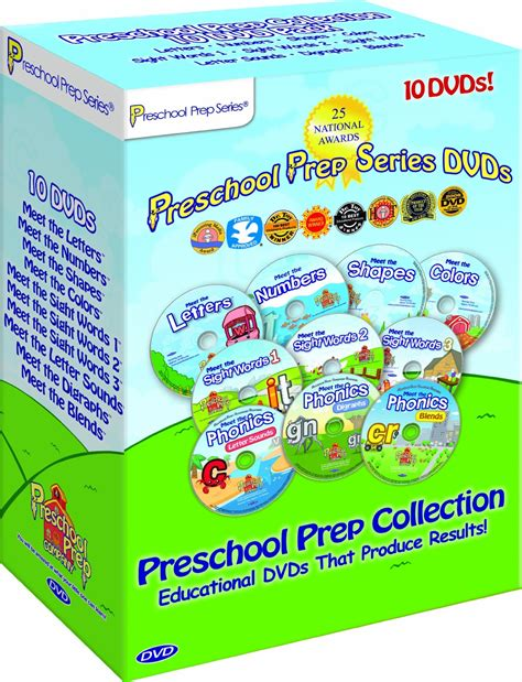 preschool prep series collection 10 dvd boxed set 343 | 534dd6a683ffb full