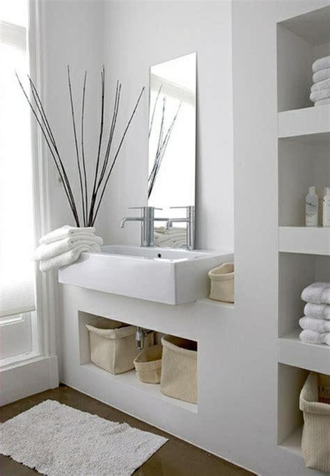 design wandregale moderne badezimmer ideen coole badezimmermöbel