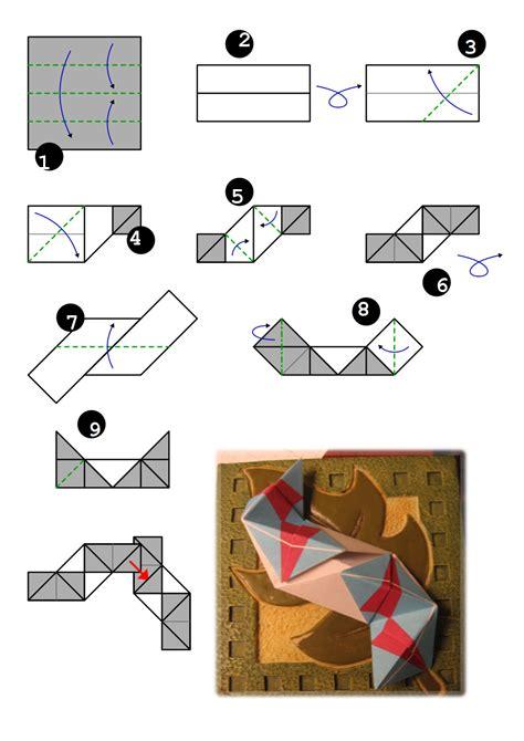 Modular Origami Instructions Open Frame