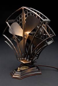 Objet Art Deco : robbins myers modernistic fan american art deco objects decophobia 20th century design ~ Teatrodelosmanantiales.com Idées de Décoration