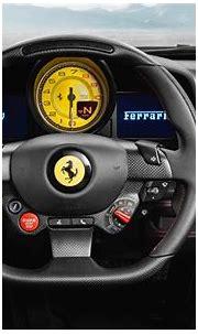 Download wallpapers Ferrari F8 Tributo, 4k, interior, 2019 ...