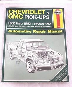 Haynes 1664 Chevrolet Gmc Pick-ups 1988