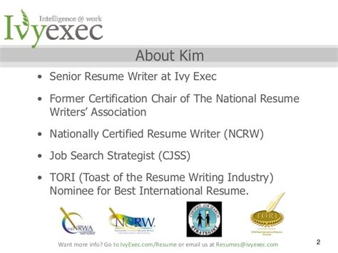 National Certified Résumé Writer Credential by To Cv Or Not To Cv Writing Your Resume For An