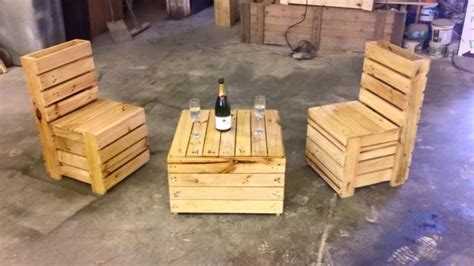 pallet recycled furniture idea pallet ideas recycled