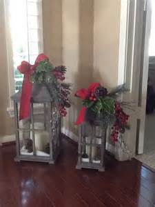 my christmas lanterns christmas pinterest