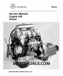 Mercedes Benz W114 W115 Engine Motor Manuals