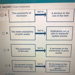 Which Diagram Most Accurately Explains Changes In Media