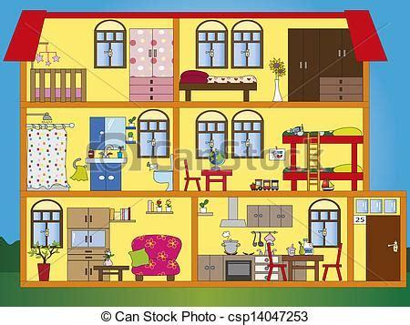 Dessin D Interieur De Maison Illustration Maison Int 233 Rieur Banque D Illustrations