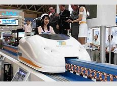 OnePerson Maglev Car, Like Riding a 480KPH Roller Coaster