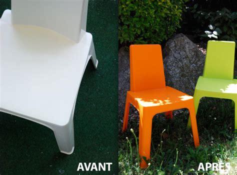 peindre une table de jardin en plastique de conception de maison