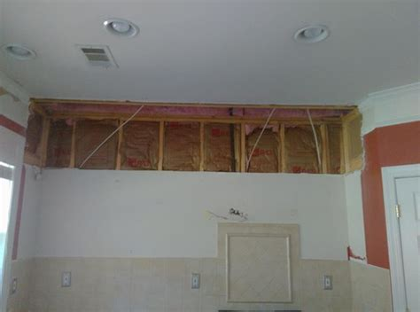 Kitchen Soffit Removal Do We Need To Rewire?