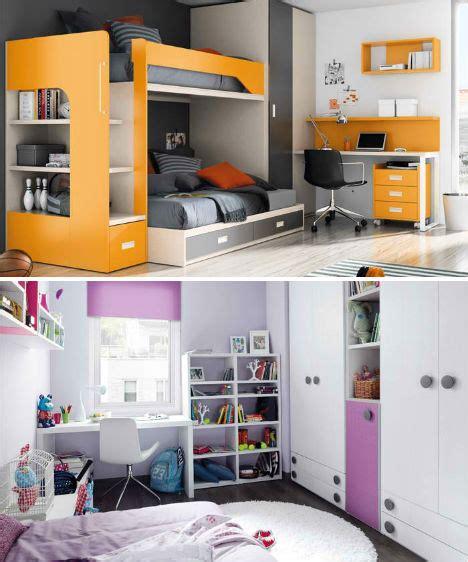 compact colorful kids room design ideas  kibuc